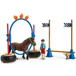 Schleich Pony Agility Tävling 42482