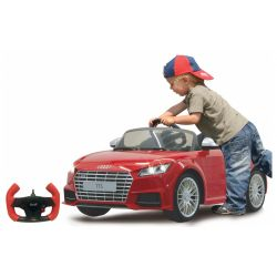 Elbil Audi TTS Roadster Röd Jamara 2,4GHz - 6 volt
