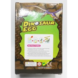 Mega Dinosaurieägg växande dinosaurie 11 cm