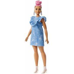 Barbie Fashionistas 95 Rosa Hår FJF55