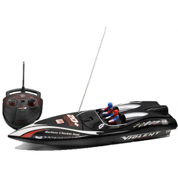 Radiostyrd Båt Thunderbolt Fastlane Speed Boat 12 km/h - 40 Mhz