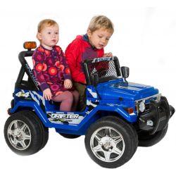 Azeno Elfyrhjulling barn Blå Buffalo 2x12V