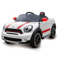 Mini Countryman Elbil Vit