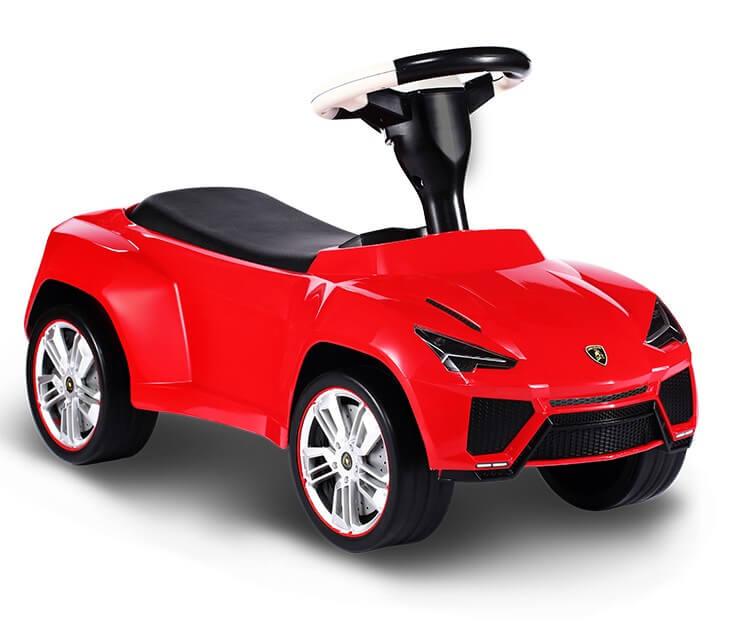 Gåbil Lamborghini Urus, Röd Rastar