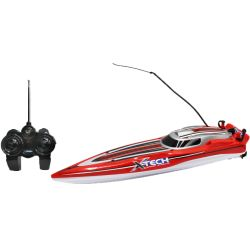 Radiostyrd båt XQ Speedboat Röd - xxx Mhz