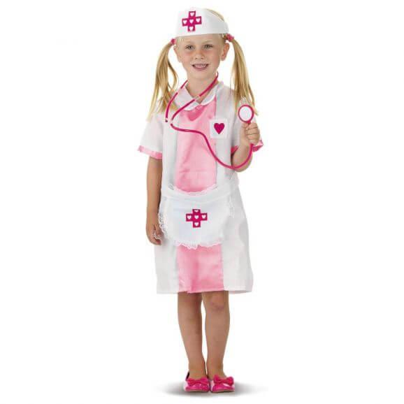 Sjuksköterska Kläder 3-5 år