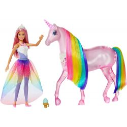 Barbie Dreamtopia Docka och Enhörning FXT26
