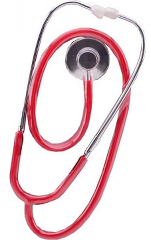 Stetoskop som fungerar som ett riktigt Leka Doktor