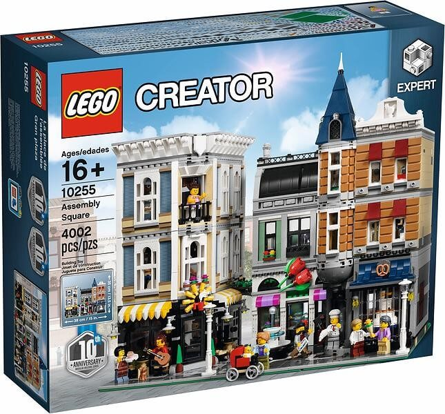 Läs mer om LEGO Creator 10255 Stora Torget