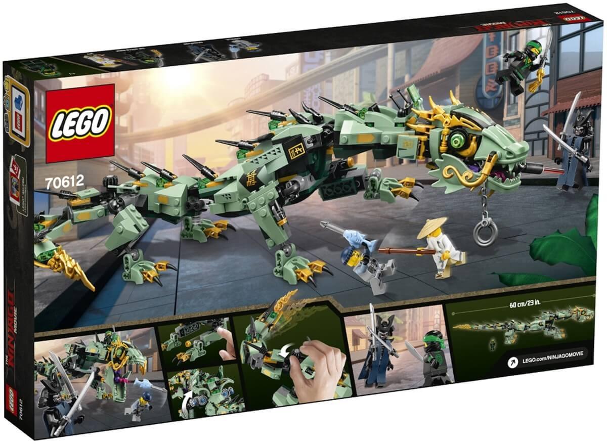 Läs mer om LEGO Ninjago 70612 Gröna ninjans robotdrake