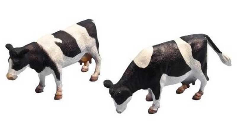Kids Globe Leksakskor av rasen Holstein 1:32