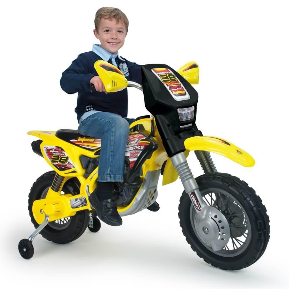 Läs mer om Motorcross ThunderMax VX 12V Eldriven