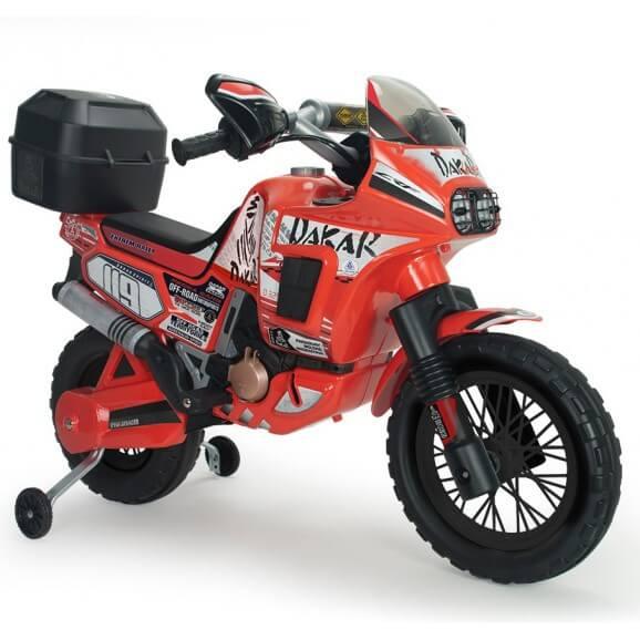 Motorcykel Dakar 6V