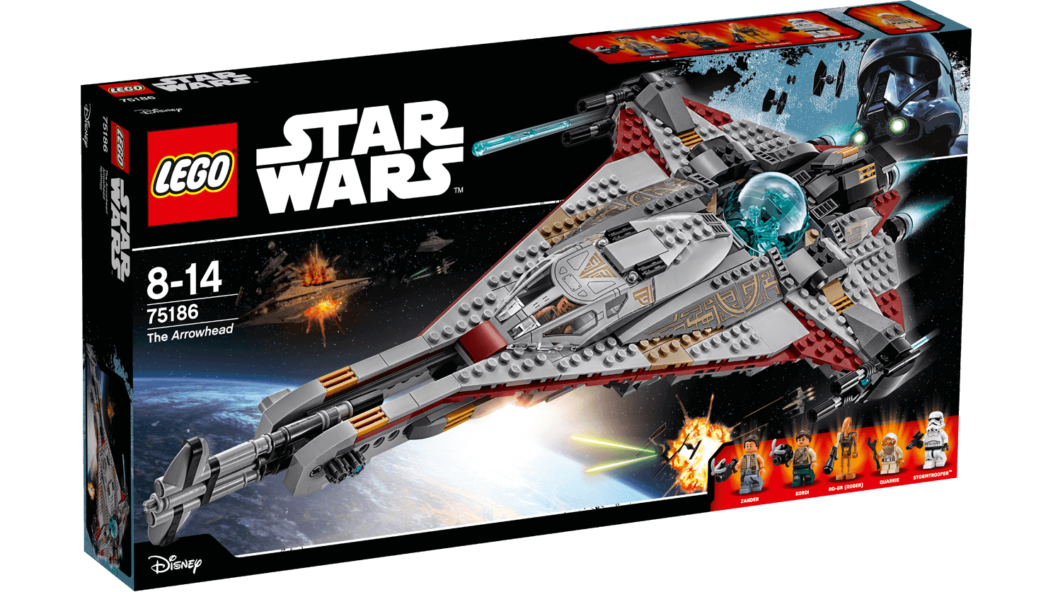 Läs mer om LEGO Star Wars 75186 The Arrowhead