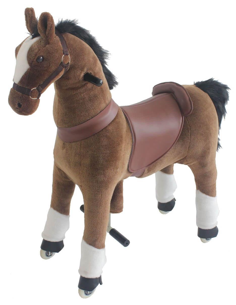 Hästen Star. Höjd 100 cm.