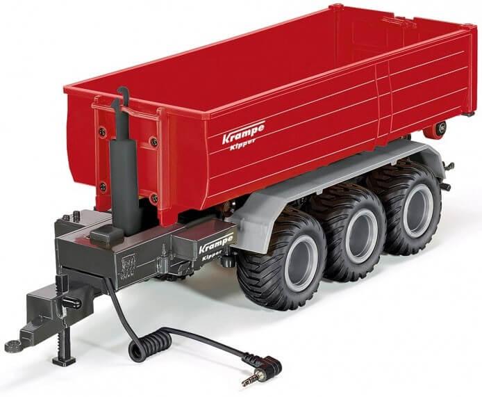 Läs mer om Radiostyrd lastväxlarsläp Krampe Kipper