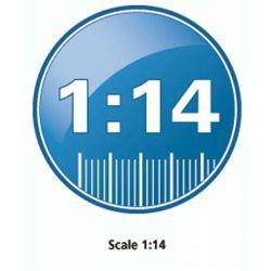 Radiostyrd Bil McLaren P1 1:14 - 27 MHz