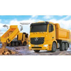 Radiostyrd Lastbil Dump Truck Tippflak Mercedes Arocs 1:26 - 2,4 GHz