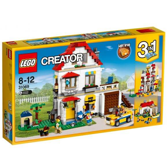LEGO Creator 31069 Familjevilla modulset