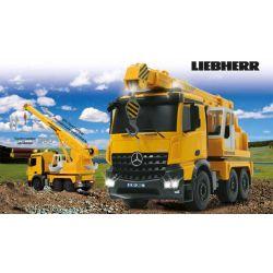 Radiostyrd Liebherr Mercedes Kranlastbil 1:20 - 2,4 GHz