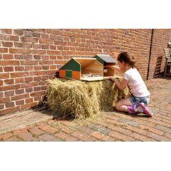Kids Globe Bondgård till barn och maskinhall till Siku 1:32