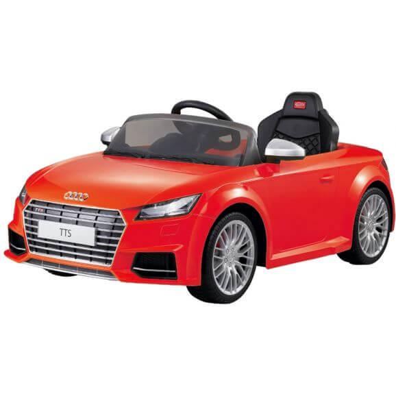 Elbil Audi TTS Roadster. Röd 12 volt