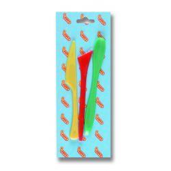 Modelleringsverktyg, knivar i plast