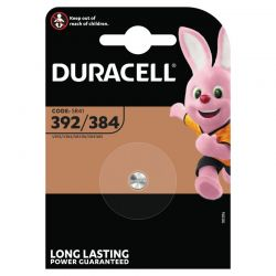 LR41 392/38 Duracell knappcellbatteri 1,5V 2 st.