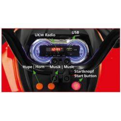 Barnfyrhjuling Protector ATV 12 volt