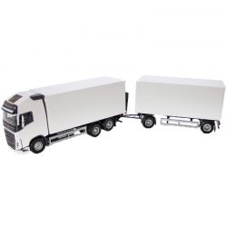 Volvo lastbil med släp. EMEK 1:25