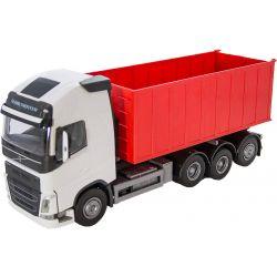 Volvo med högt lastväxlarflak. EMEK 1:25