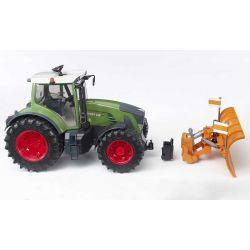 Bruder Snöplog till Bruder Traktorer och Lastbilar 02582