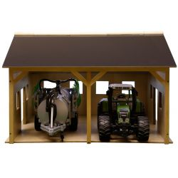 Kids Globe farm wood for 2 tractors 1:16