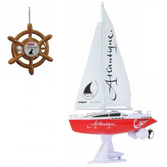 Radiostyrd Segelbåt Atlantique Jamara 5 km/h - 27 MHz
