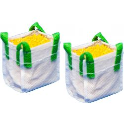 Kids Globe Big Bag 2 pcs with silo filling, 1:32