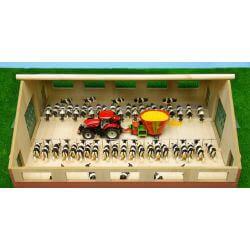 Kids Globe wooden farm 73x60x26 cm, 1:32