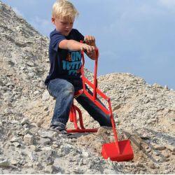 Grävskopa till sandlådan Dino Cars
