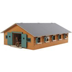 Kids Globe Häststall leksak 9 st. boxar till Schleich hästar 1:32