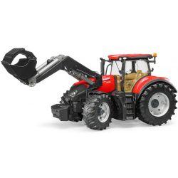 Case Traktor IH Optum 300 CVX med frontlastare. Bruder. 1:16