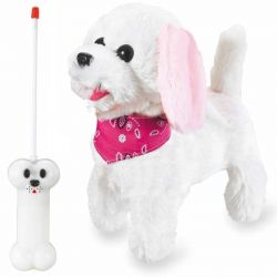 Radiostyrd Trixi Plush Hund Rosa Leksakshund