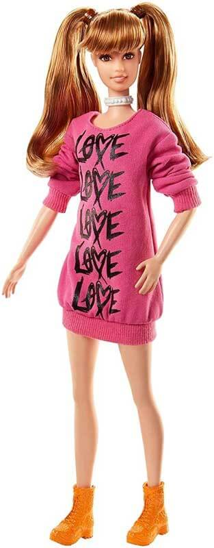 Barbie Fashionistas Dolls Wear Your Heart