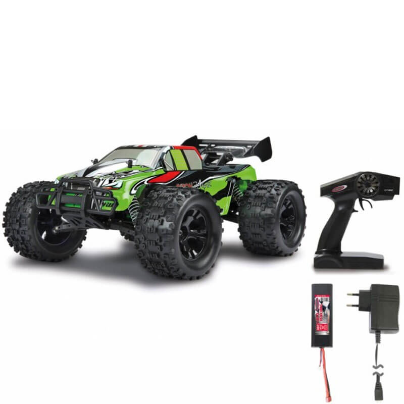 Akron Monstertruck RC Jamara BL 4WD Lipo 1:10 - 2,4 Ghz - 70 km/h