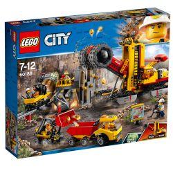LEGO City 60188 Gruvexperternas läger