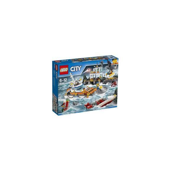LEGO City 60167 Kustbevakningens högkvarter