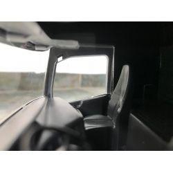 Leklastbil Scania lastväxlare lågt flak. Emek 1:25