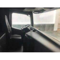 Leksakslastbil Scania med tippbart släp. Emek 1:25