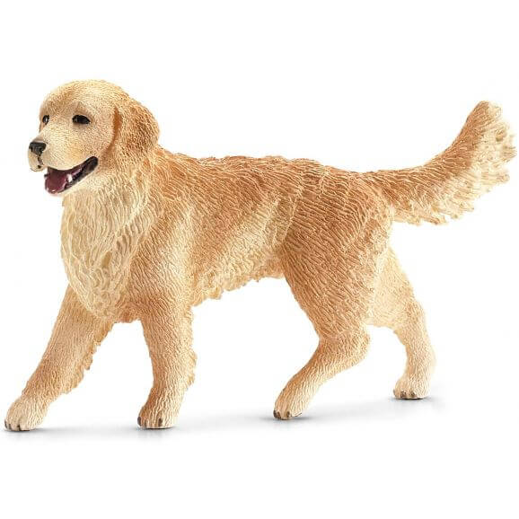 Hund Golden Retriever, hona. Schleich