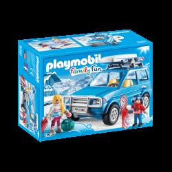 Playmobil bil med takbox 9281