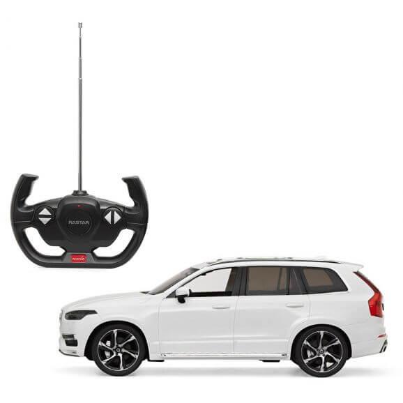 Radiostyrd bil Volvo XC90 Vit 1:14