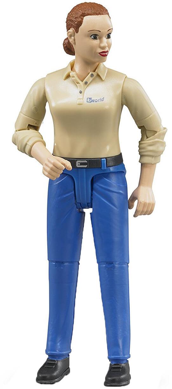 Bruder Figur Kvinna med Blå Jeans 60408